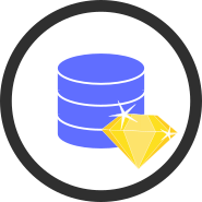 Base de données dédiées et pack métier